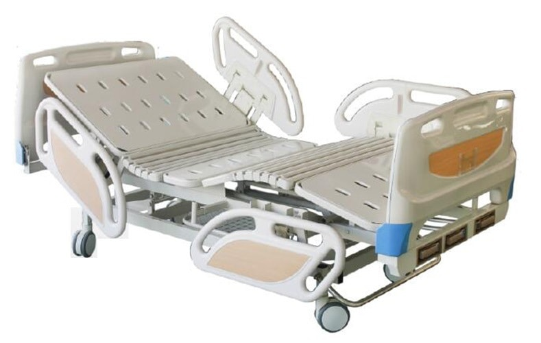 Manual Three-Crank Sickbed Patient Bed