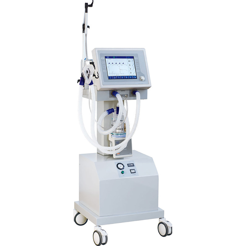 Medical Breathing Machine with compressor