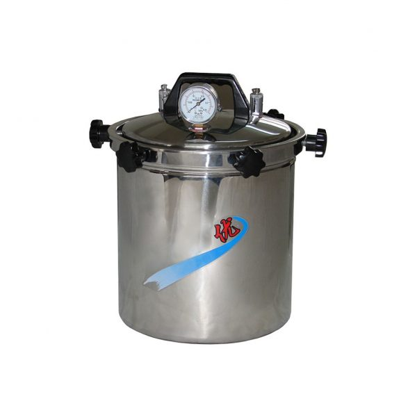Portable Stainless Steel Autoclave Sterilizer (coal dual-use type, anti-dry type)